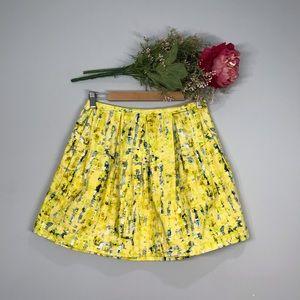 Jack by BB Dakota | Duke Sateen Pleated Skirt SZ8